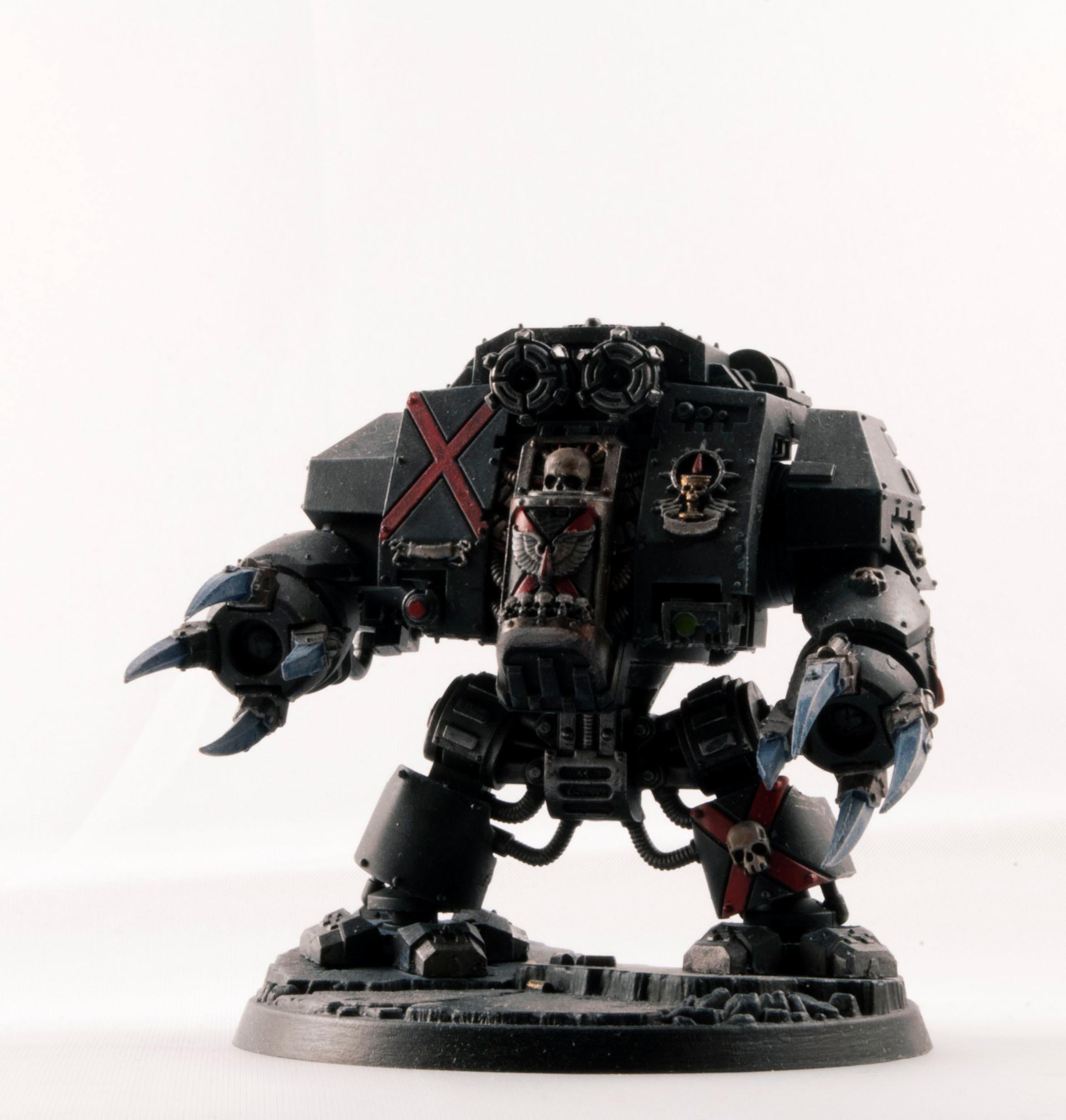 Blood Angels, Death Company, Dreadnought, Power Hug, Space Marines, Warhammer 40,000