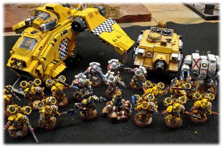 Adepticon, Badab War, Lamenters, Space Marines, Team Tournament, Warhammer 40,000