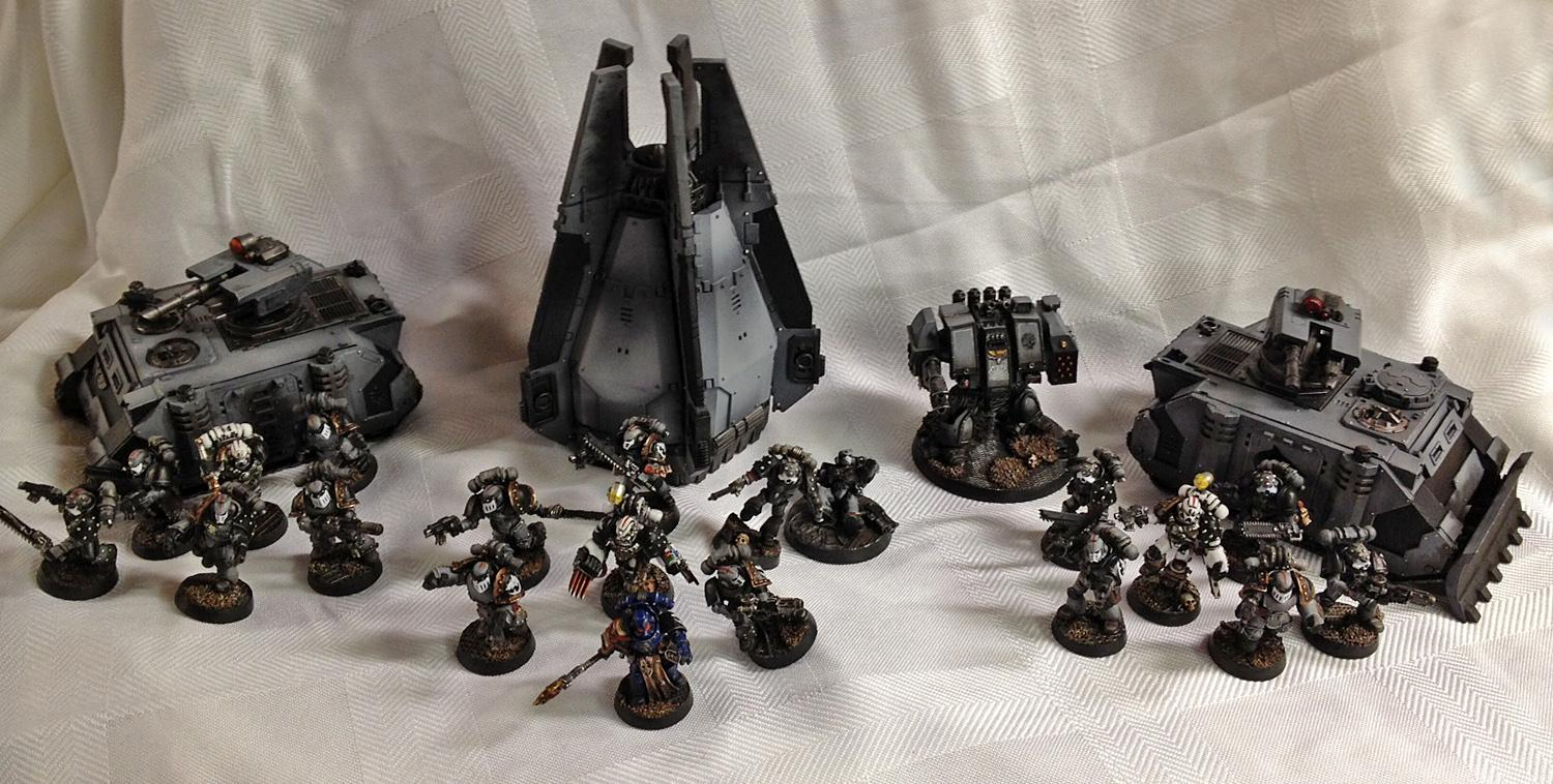 Adepticon, Badab War, Carcharodons, Space Marines, Space Sharks, Team Tournament, Warhammer 40,000
