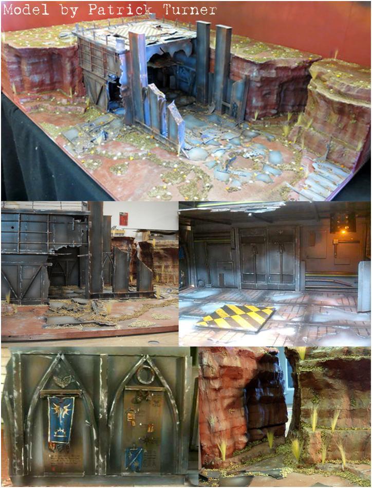 Adepticon, Badab War, Display, Listening Post, Solar_lion, Space Marines, Team Tournament, Terrain, Warhammer 40,000