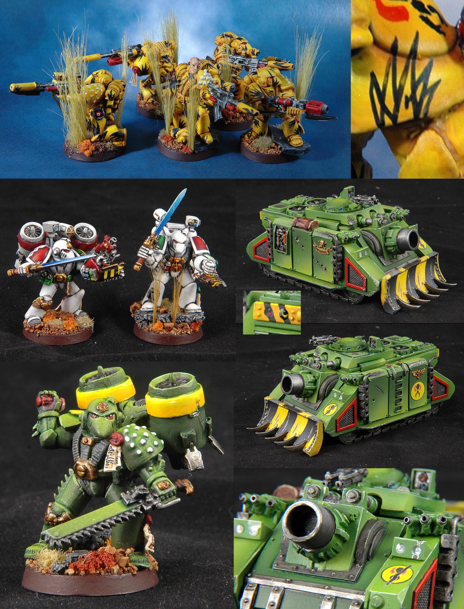 Adepticon, Badab War, Mantis Warriors, Space Marines, Team Tournament, Warhammer 40,000