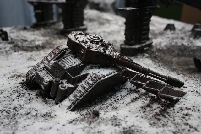Terrain, Vanquisher, Warhammer 40,000, Wreck