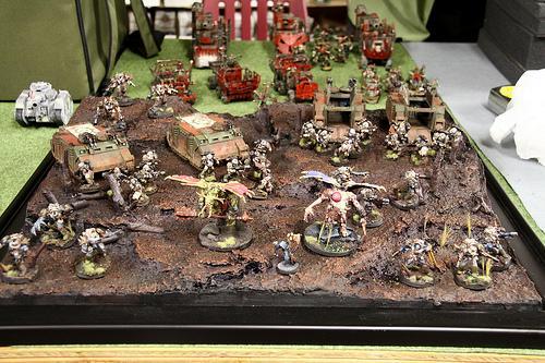 Army, Chaos, Chaos Space Marines, Diorama, Nurgle