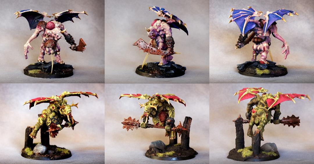 Conversion, Nurgle, Winged Daemons