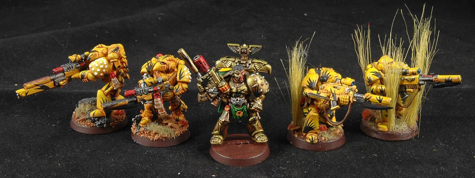 Mantis Warriors, Space Marines, Sternguard, Tycho, Warhammer 40,000, Work In Progress