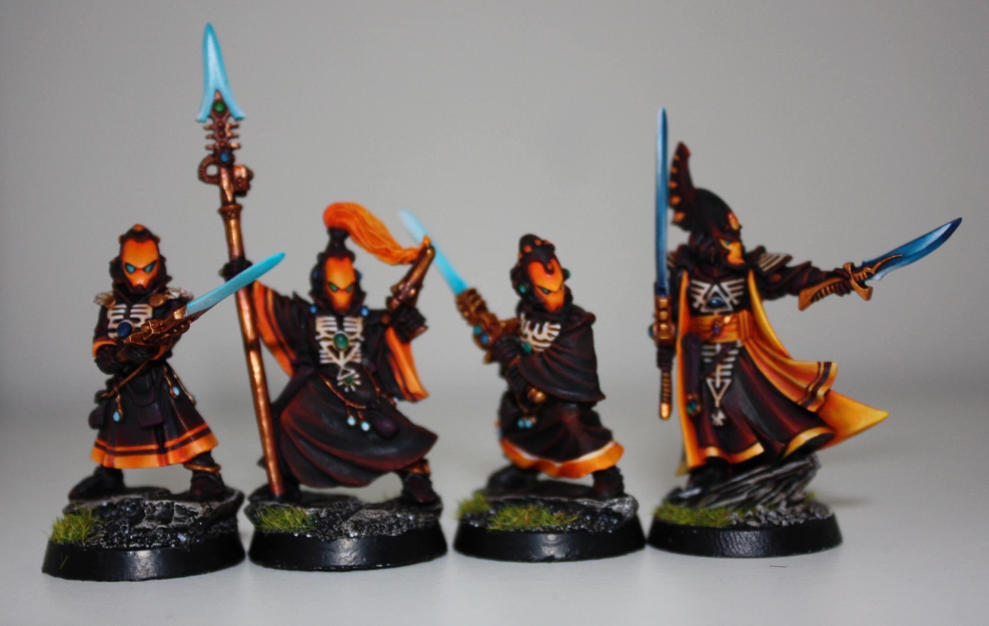 Eldar, Farseer, Seer Council, Warlock