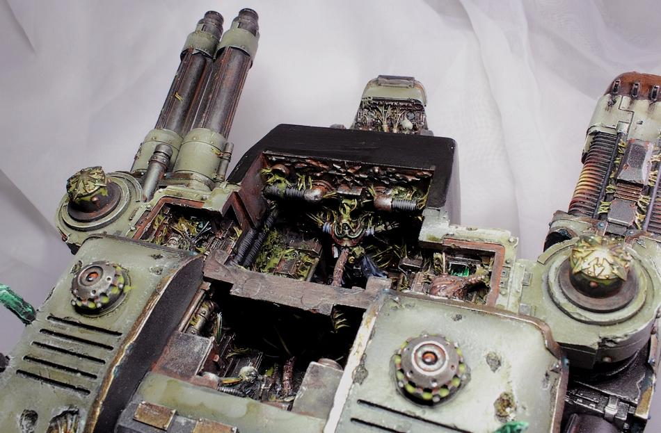 Chaos, Commission, Forge World, Nurgle, Titan, Warhammer 40,000, Warhound