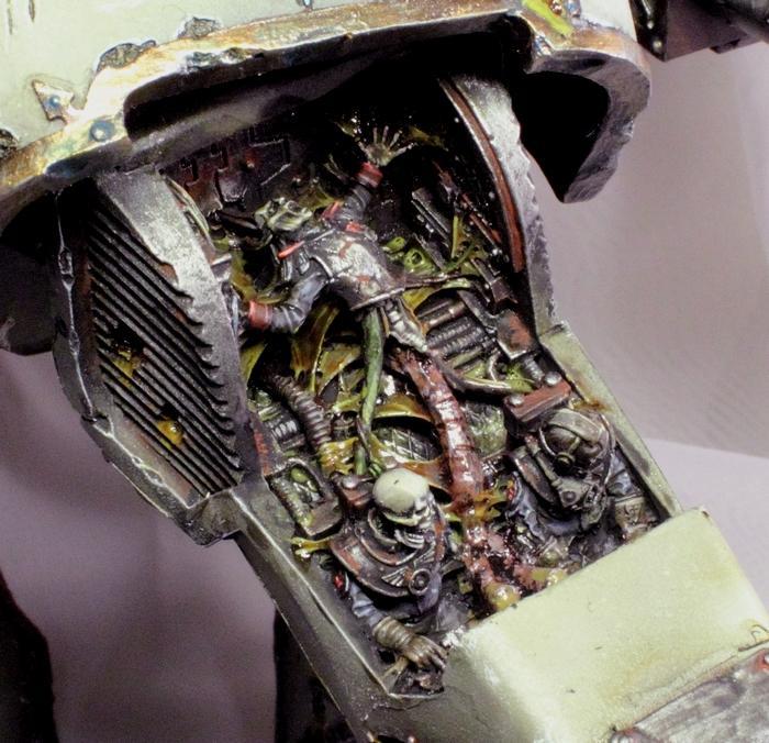 Chaos, Commission, Forge World, Nurgle, Titan, Warhammer 40,000, Warhound