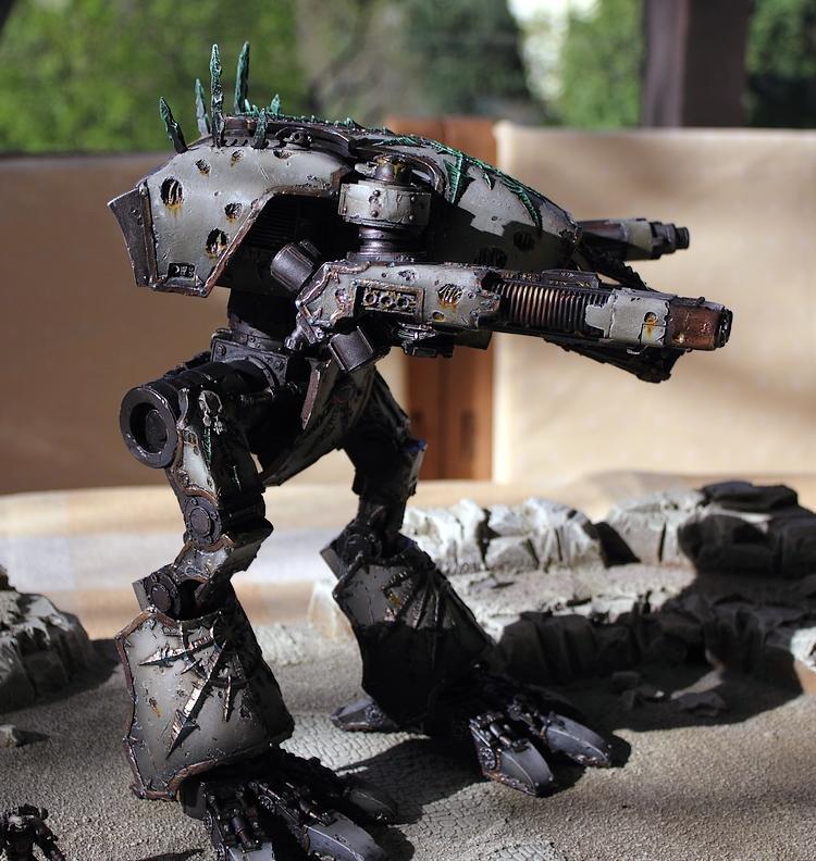 Apocalypse, Chaos, Chaos Titan, Titan, Warhammer 40,000, Warhound