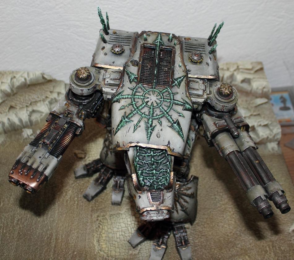 Apocalypse, Chaos, Chaos Warhound Titan, Titan, Warhammer 40,000, Warhound