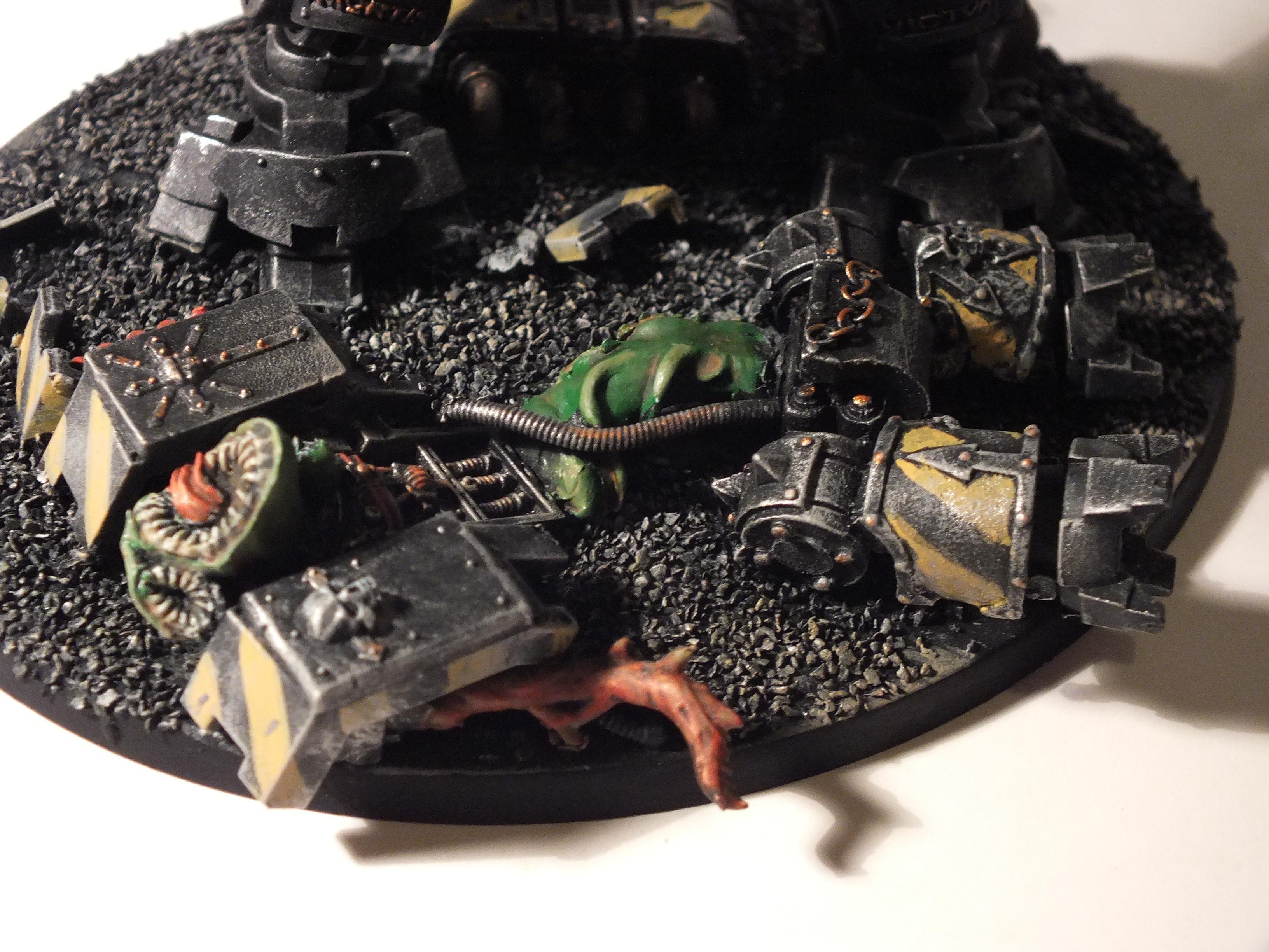 Gk, Grey Knights, NDK base - Iron Warrior d(r)eadnought
