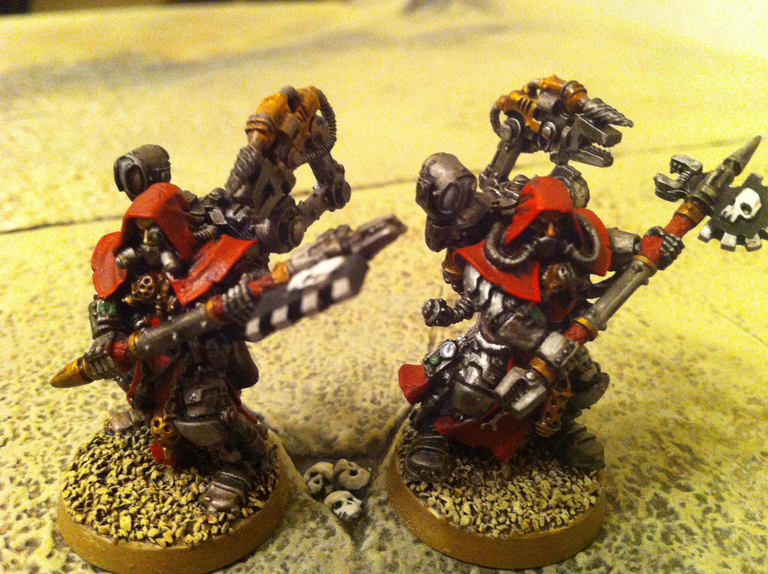 Imperial Guard Techpriest