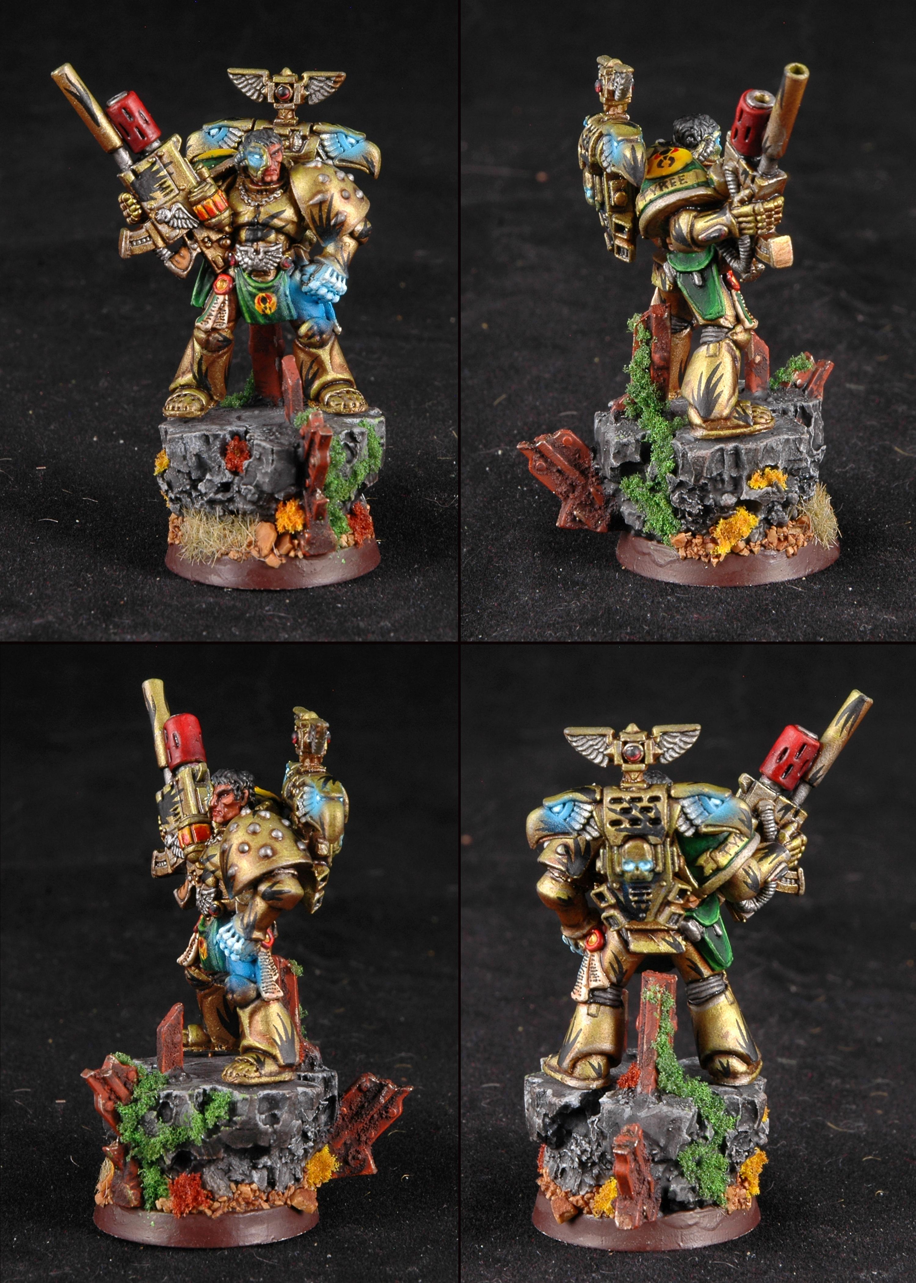 Mantis Warriors, Space Marines, Tranquility Sniper, Tycho, Warhammer 40,000