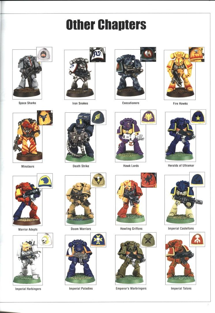 Copyright Games Workshop, Space Marines
