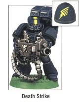 Copyright Games Workshop, Death Strike, Space Marines