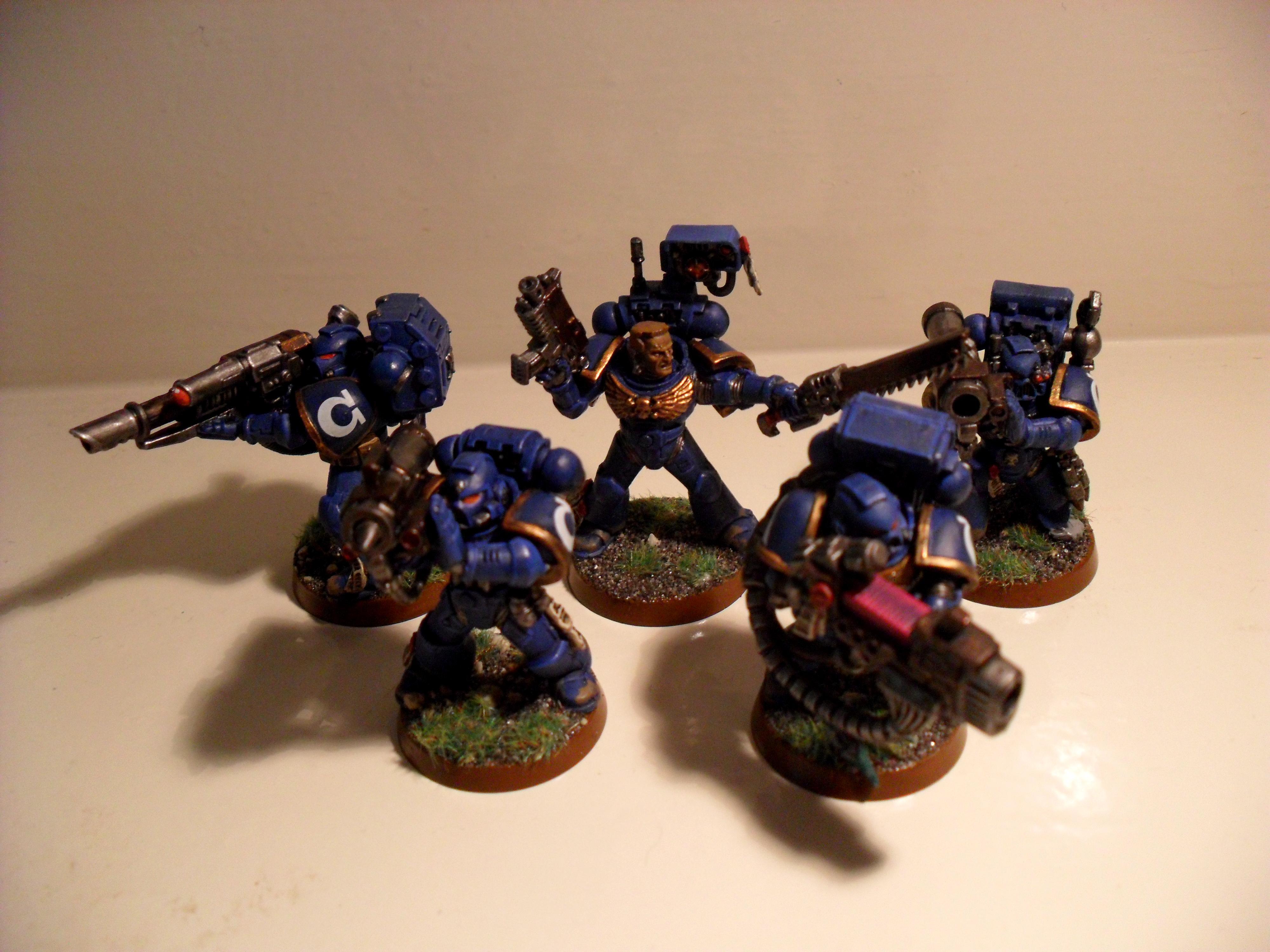 Devastator, Space Marines, Squad, Ultra, Warhammer 40,000