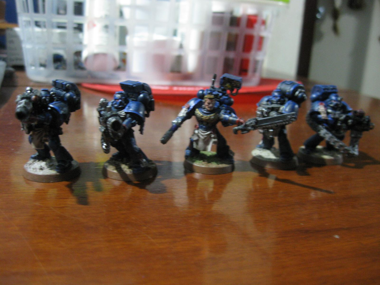 Devastator, Sergeant, Space Marines, Squad, Ultra, Warhammer 40,000