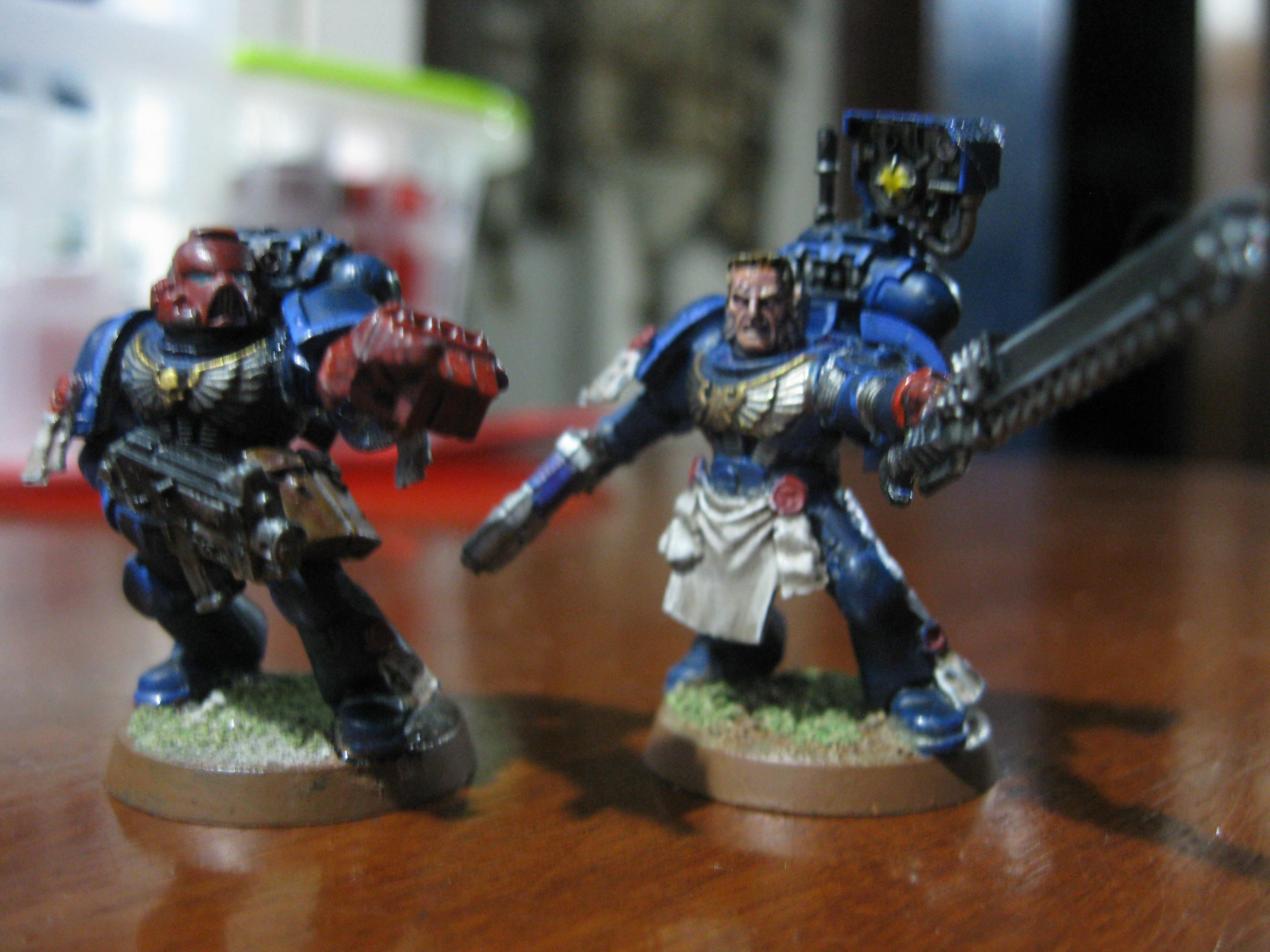 Close-up on the sergeants
