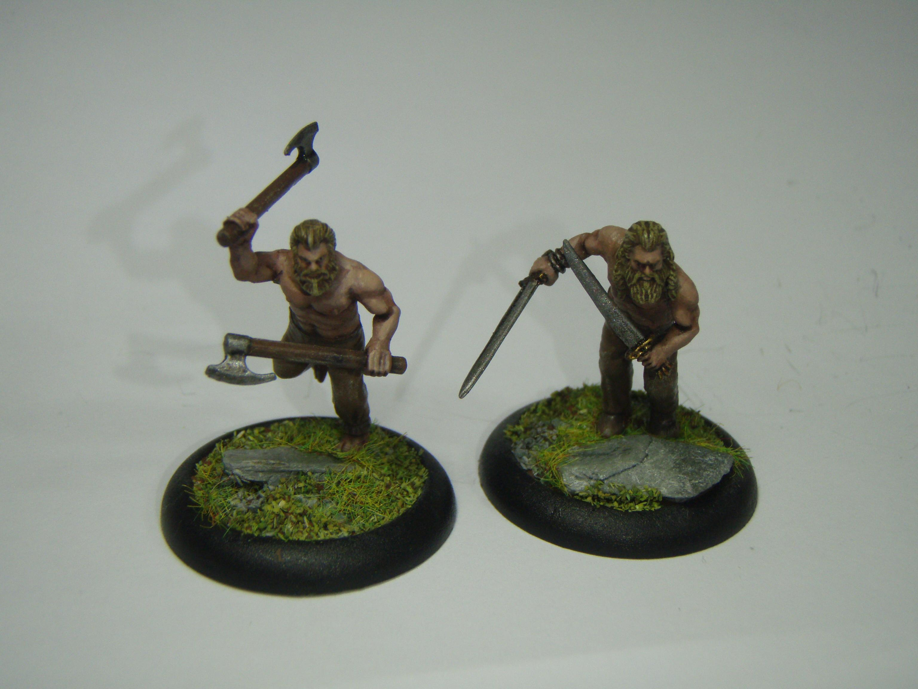 Naked space wolves?