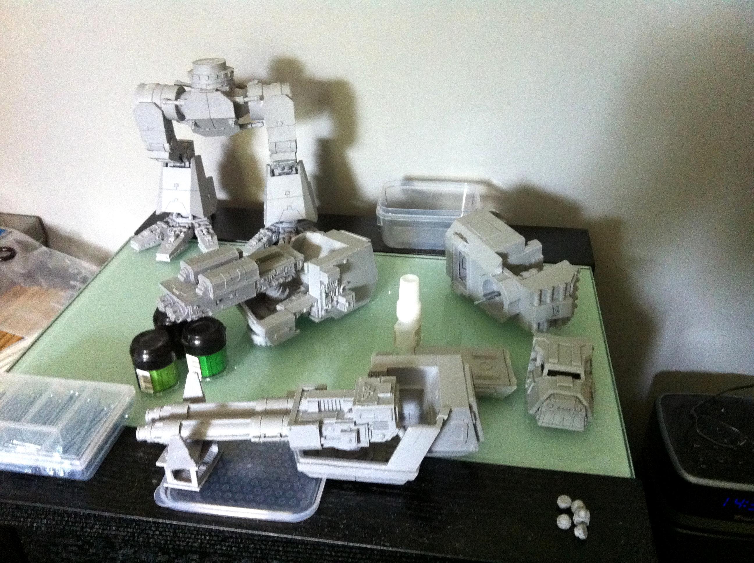 Warhound titan final steps