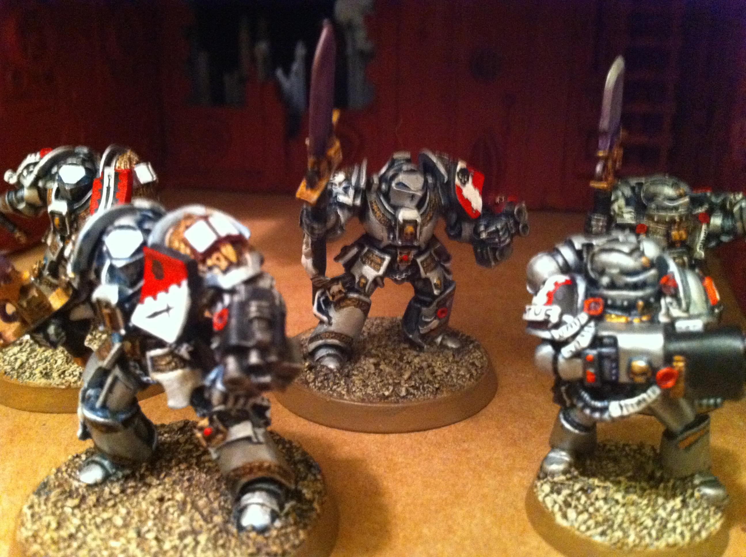 Grey Knights, Terminator Armor, Warhammer 40,000
