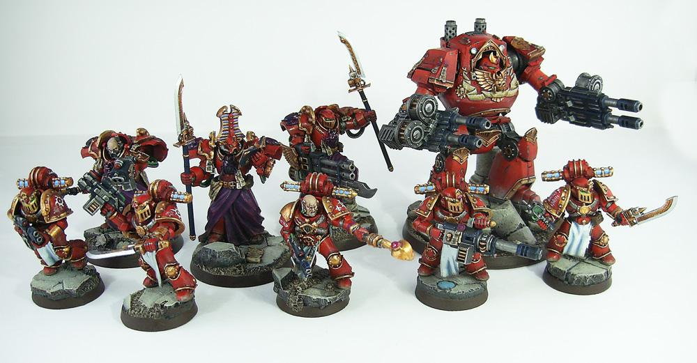Astartes, Contemptor, Dreadnought, Grey Knights, Pre-heresy, Prospero, Psyker, Psykers, Sorcerer, Sorcerers, Space Marines, Terminator Armor, Thousand Sons