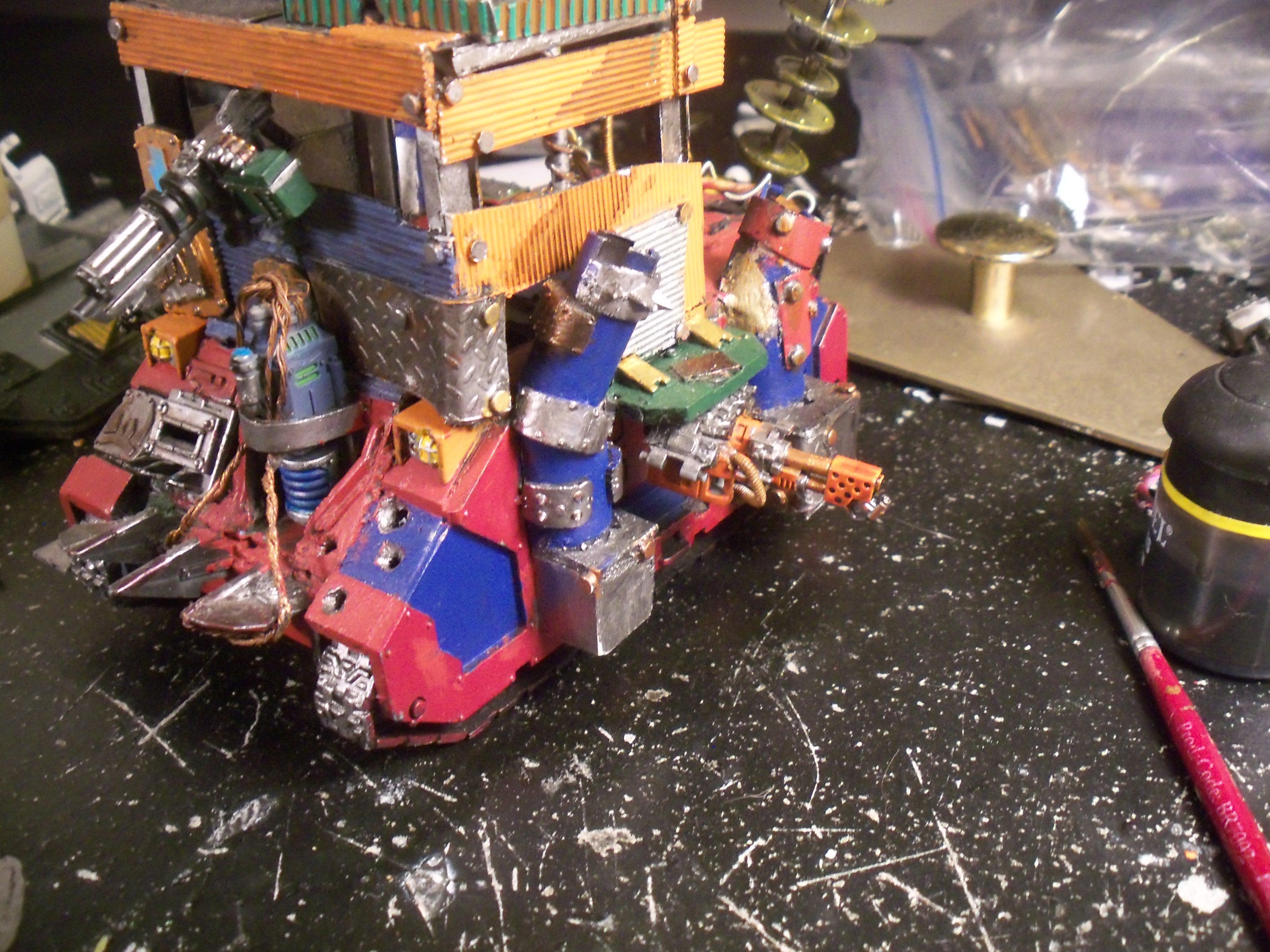 Mekboy Junka, Orks, Mekboy junk side|front