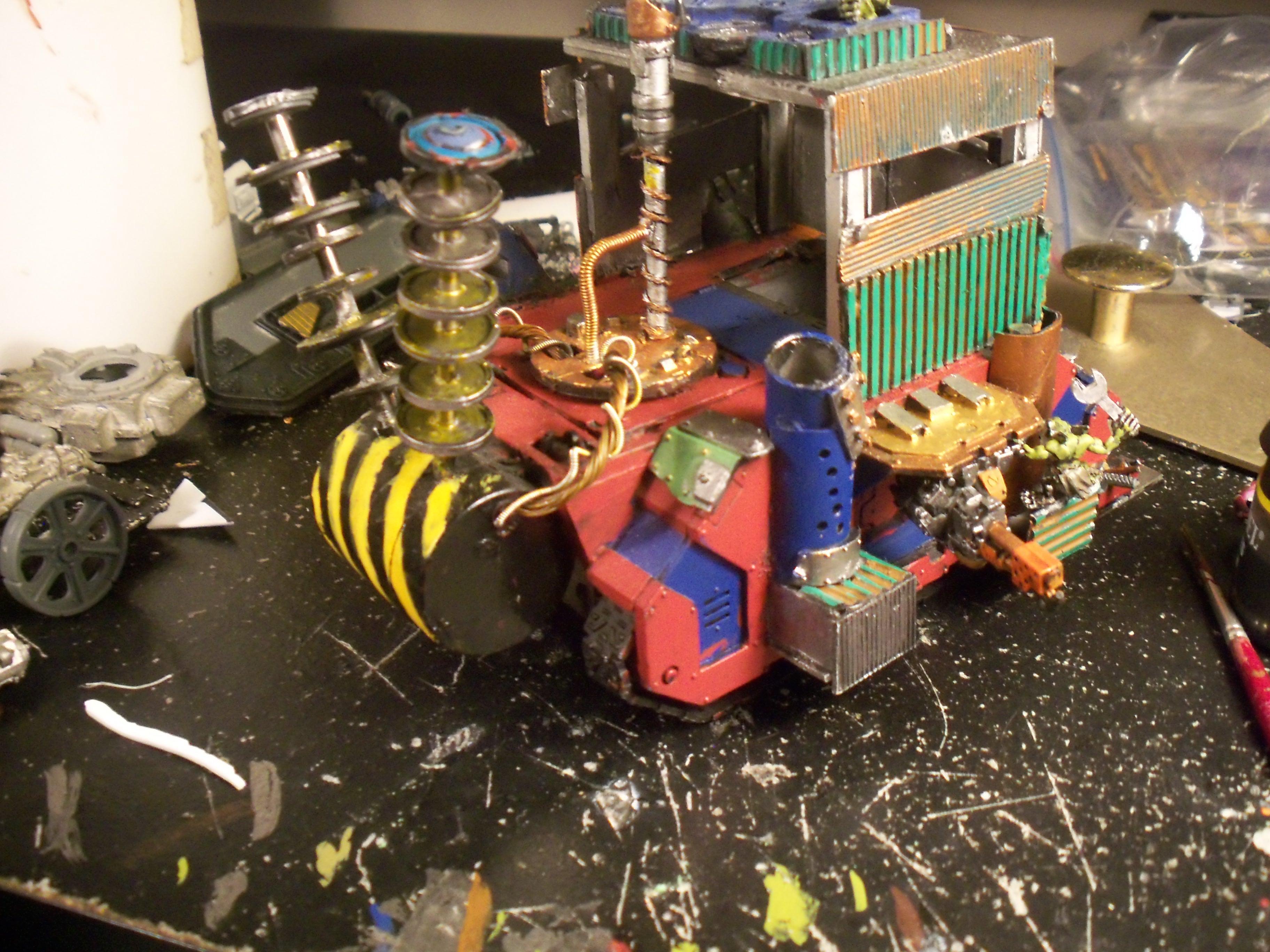 Mekboy Junka, Orks, Mekboy junk side|rear