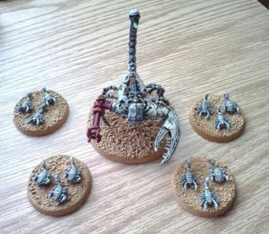 Army, Conversion, Necrons, Tomb Kings