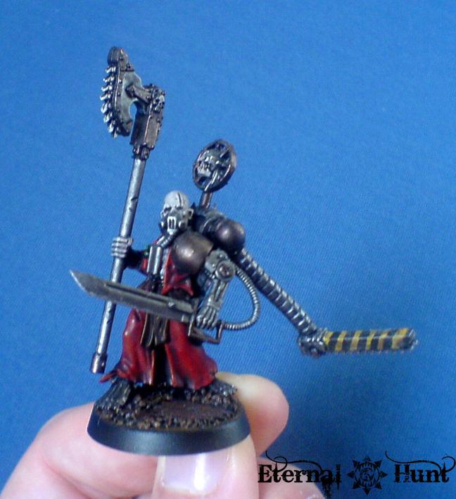 Adeptus Mechanicus, Conversion, Inq28, Inquisitor, Magos Explorator, Magos Hiram Zeiss, Mechanicus, Retinue, Warhammer 40,000