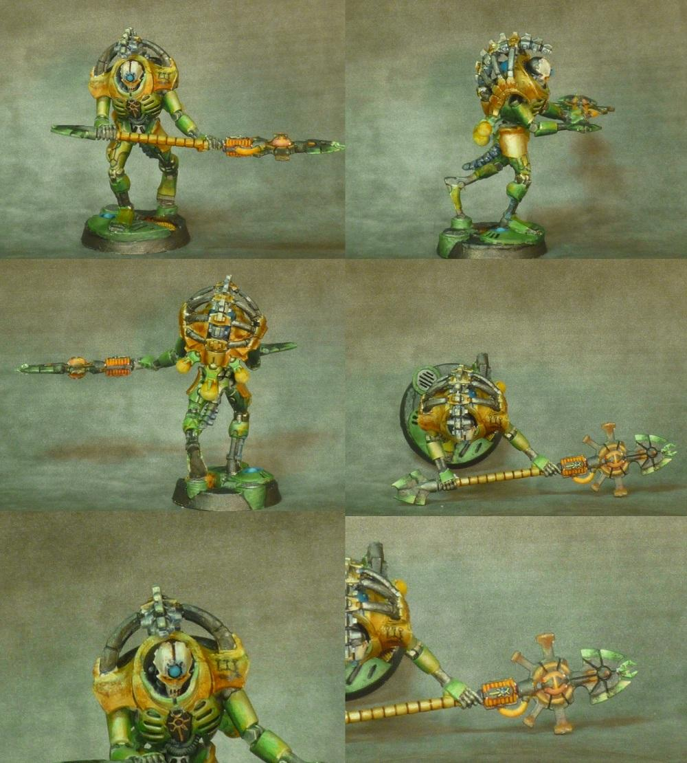 Colored Metallic, Necrons, Trairch Praetorian, True Metallic, Warhammer 40,000