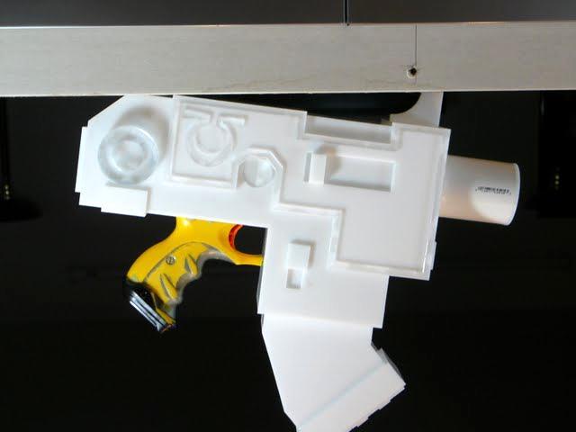 Bolt Pistol, Bolter, Kit, Laser