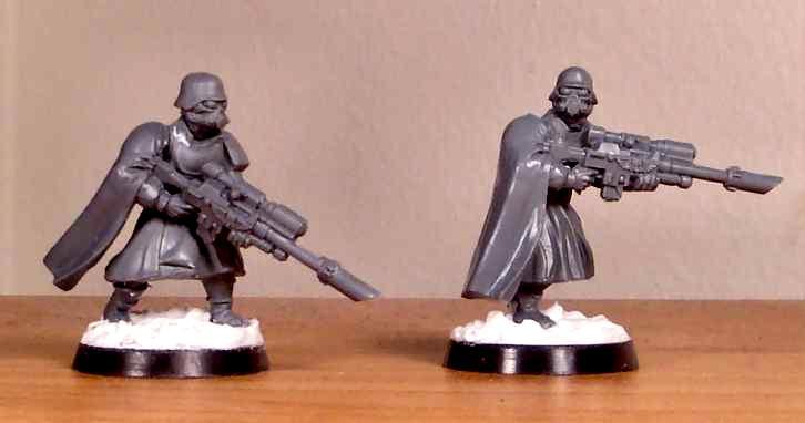 10 40K Imperial Guard Cadian Shock Troops Helmet Heads