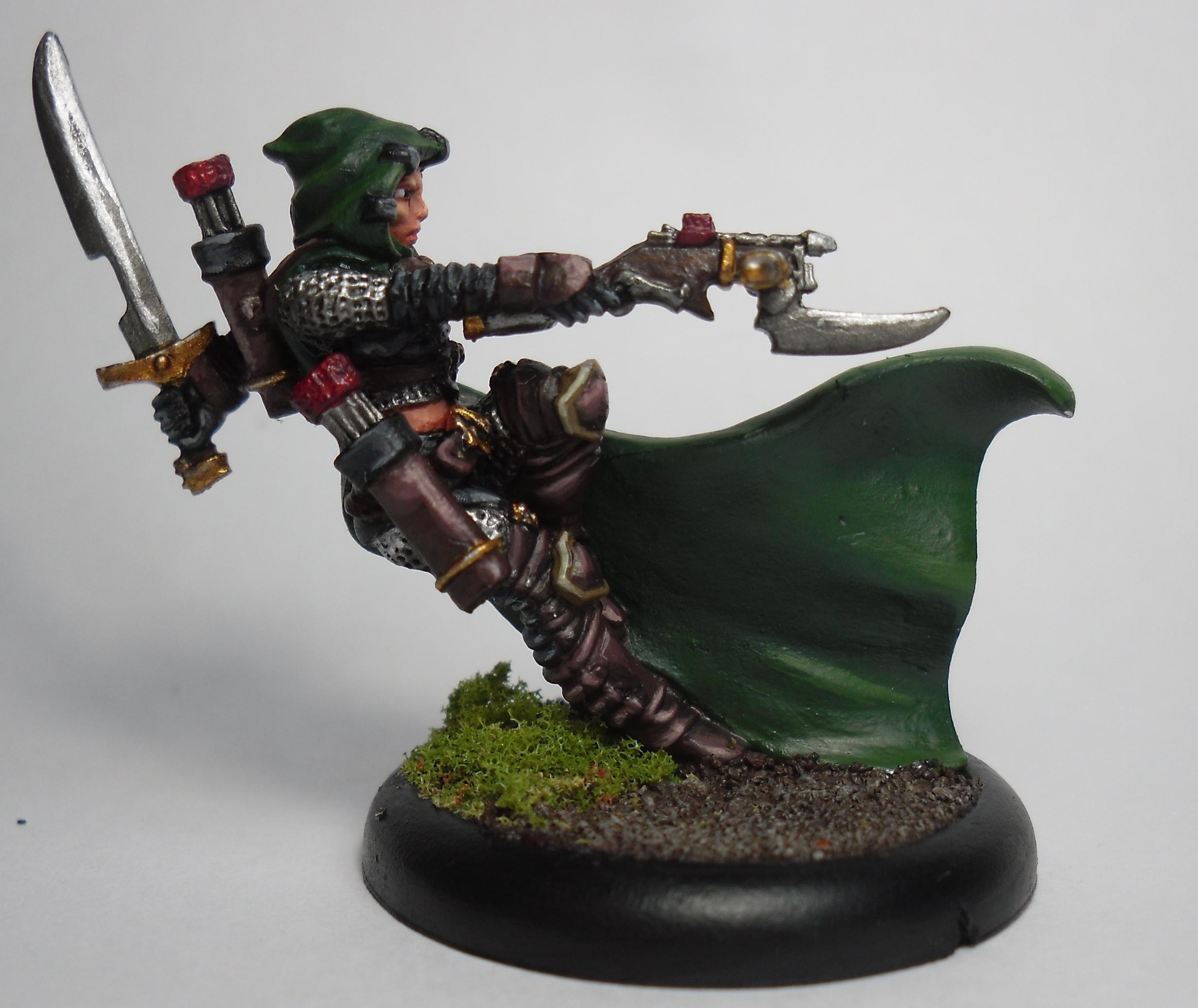 Eiryss, Hunter, Ios, Mage, Mercenary, Warmachine