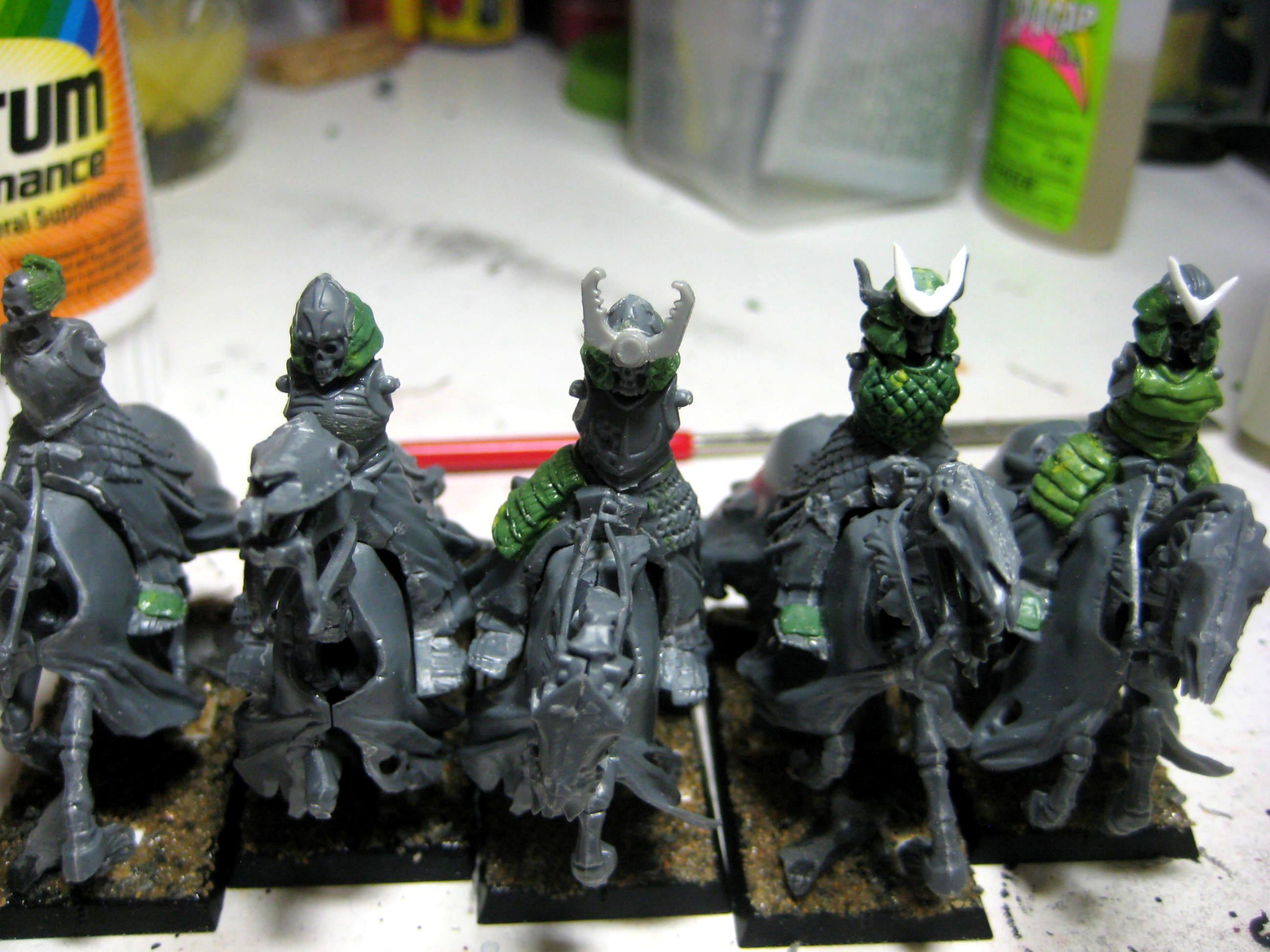Conversion, Greenstuff, Samurai, Undead, Vampire Counts, Work In Progress