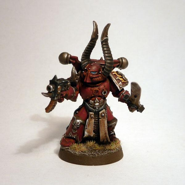 Aspiring Champion, Chaos Space Marines, Power Weapon, Word Bearers