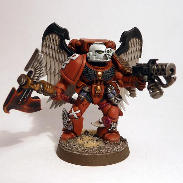 Blood Angels, Hand Flamer, Jump Pack, Sanguinary Priest, Winged