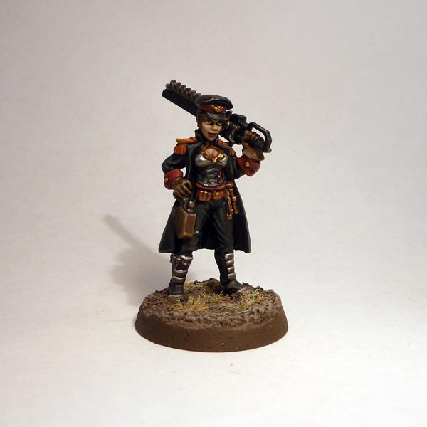 Commissar, Female, Imperial Guard, Reaper