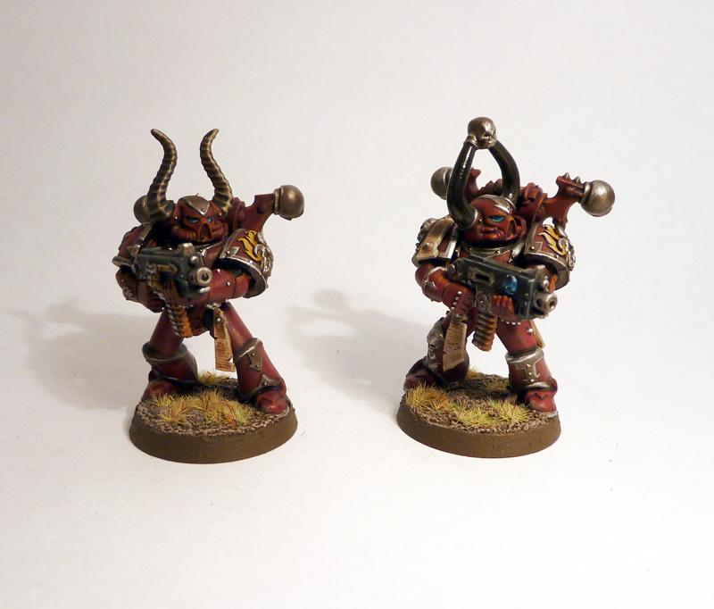 Bolters, Chaos Space Marines, Word Bearers