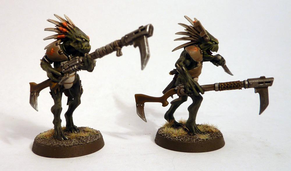 Kroot Carnivores, Kroot Rifles, Tau