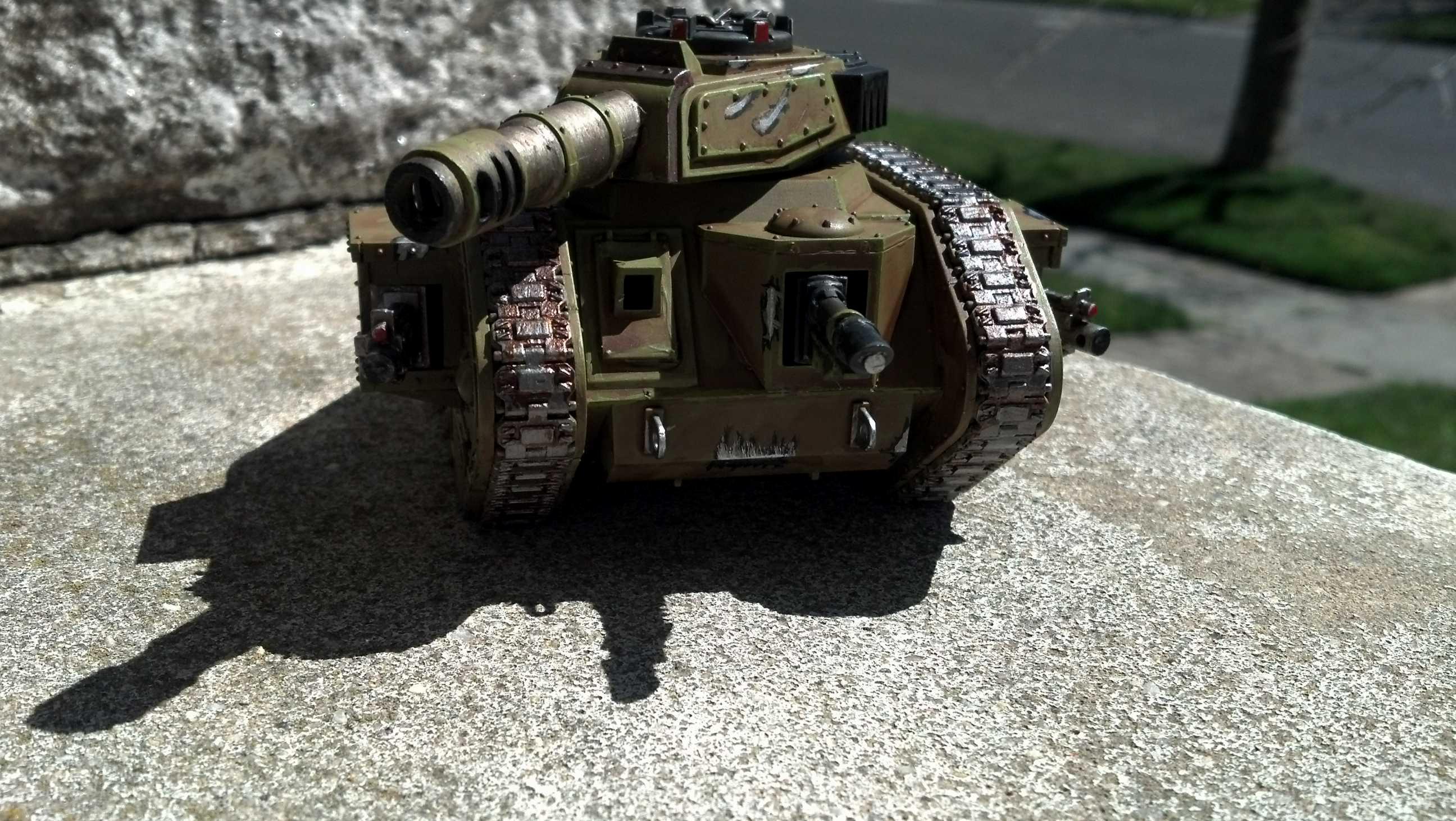 Catachan, Imperial Guard, Leman Russ, Warhammer 40,000