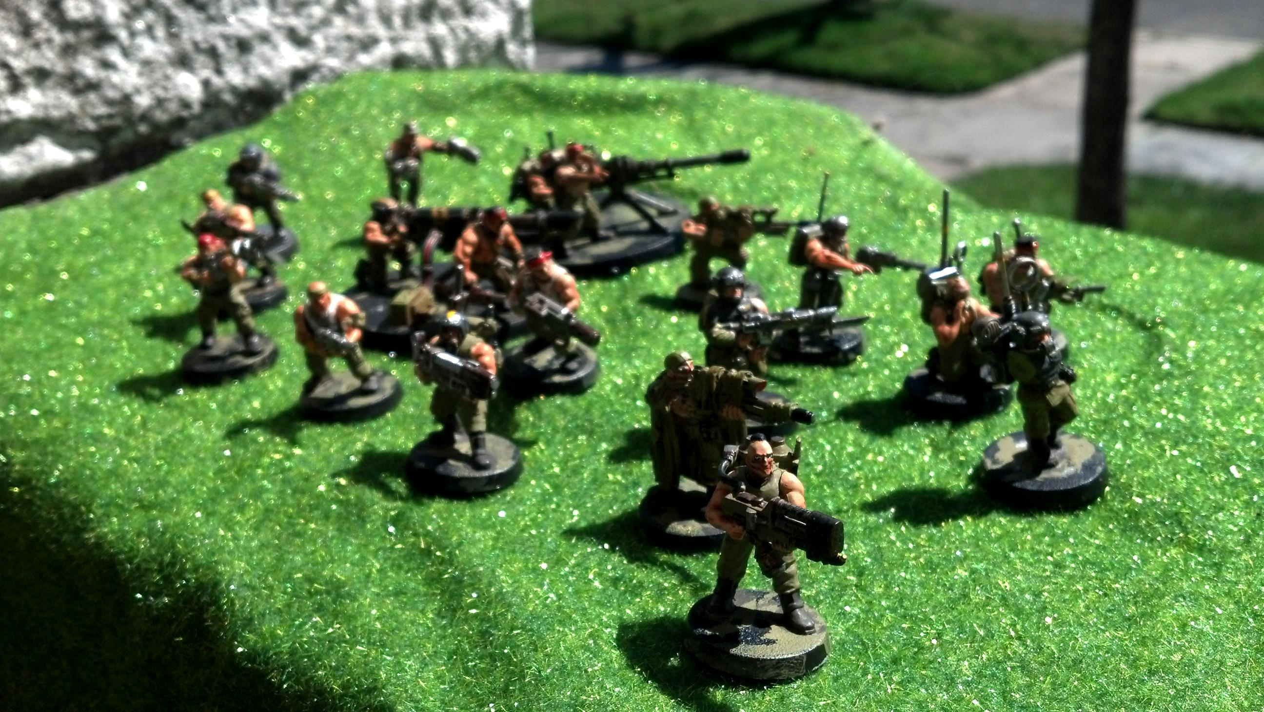 Imperial Guard, Infantry