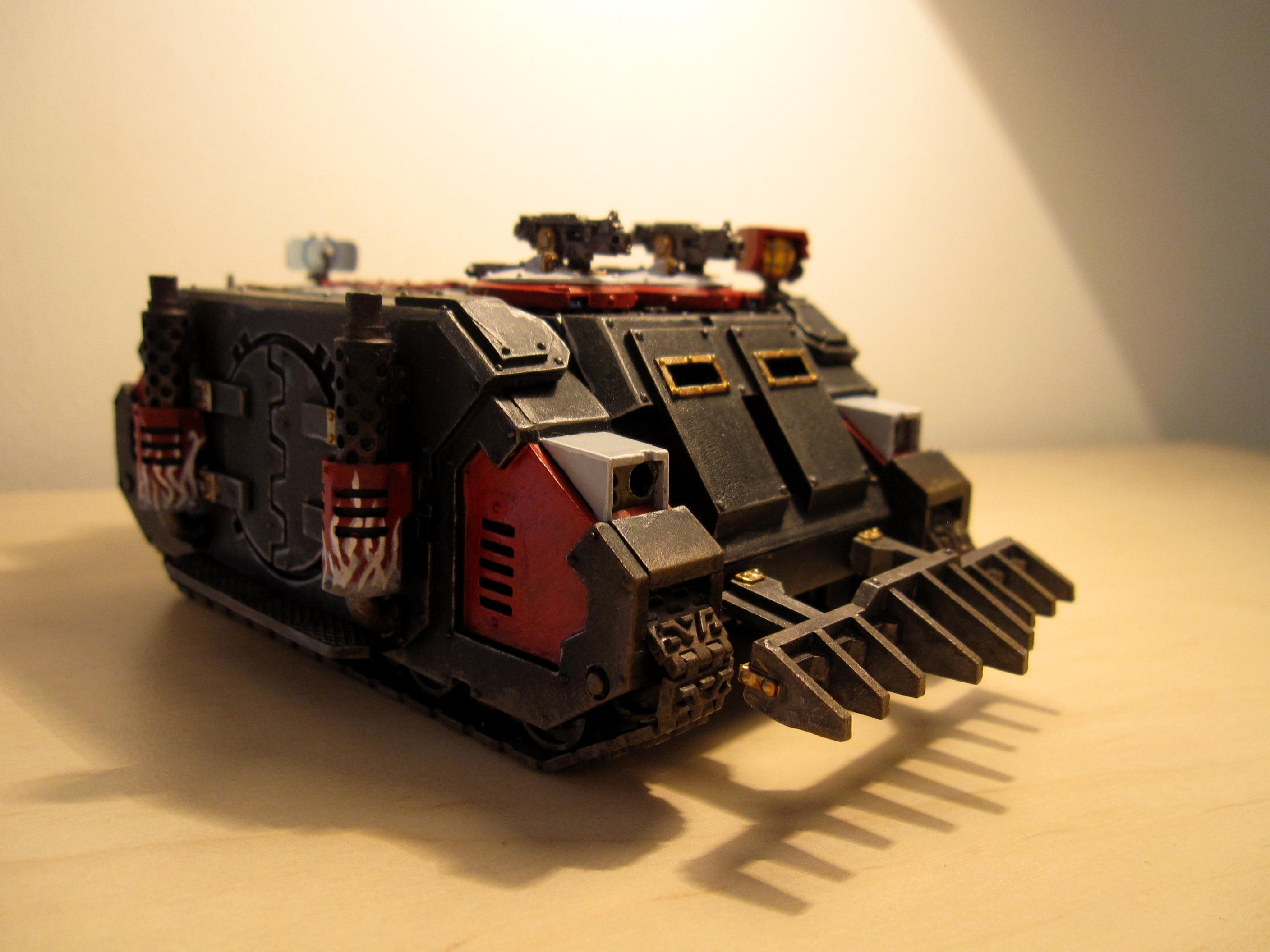 40.000, Deimos, Dirt, Dust, F, Forge, Freehand, G, Grey, Hatch, Hinges, Inquisition, K, Knights, LED, Magnet, Mkic, Pattern, Rhino, Tank, Transport, W, Warhammer 40,000, Weathered, World