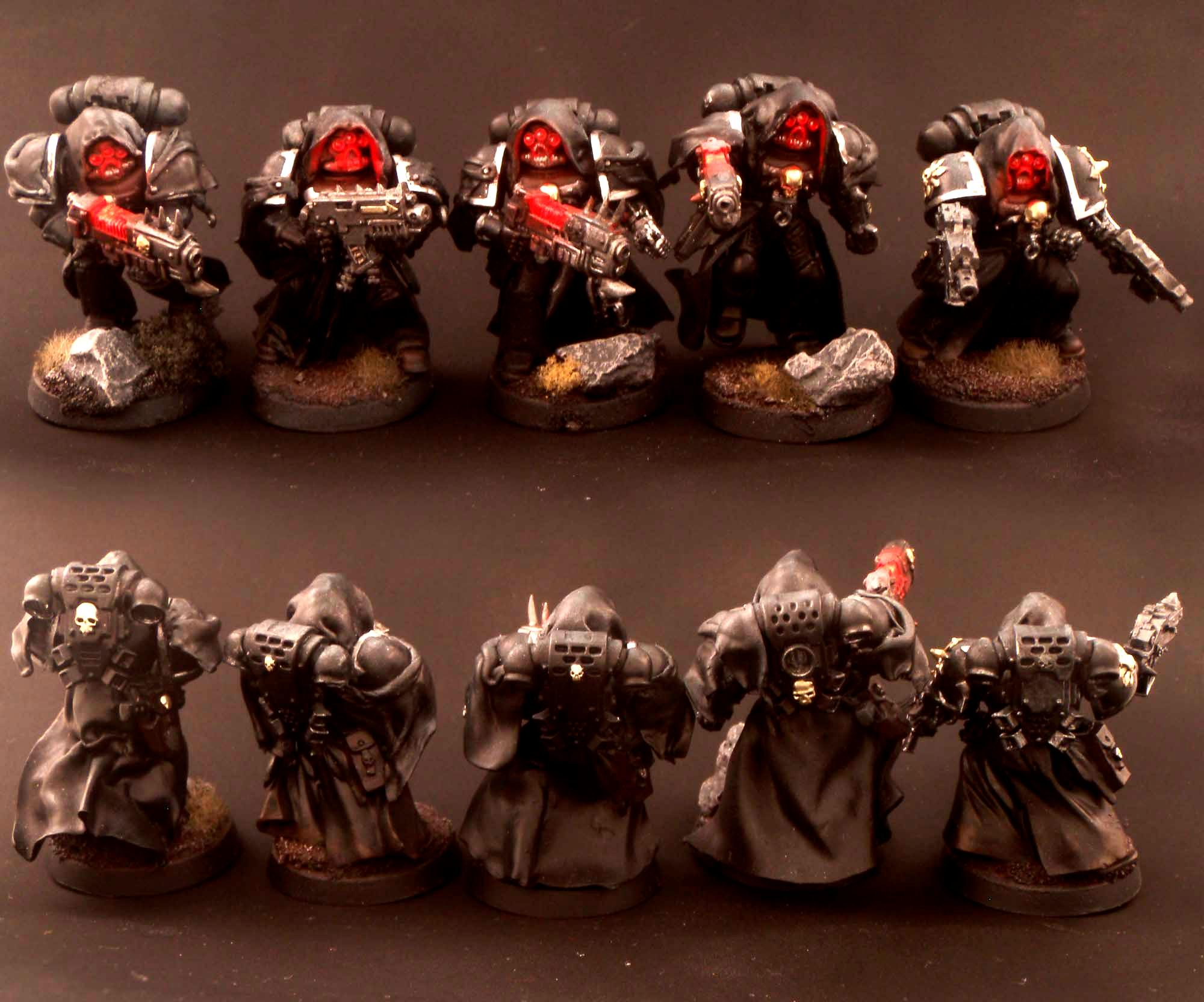 Black Legion, Chaos Space Marines, Chosen, Infiltrators, Warhammer 40,000