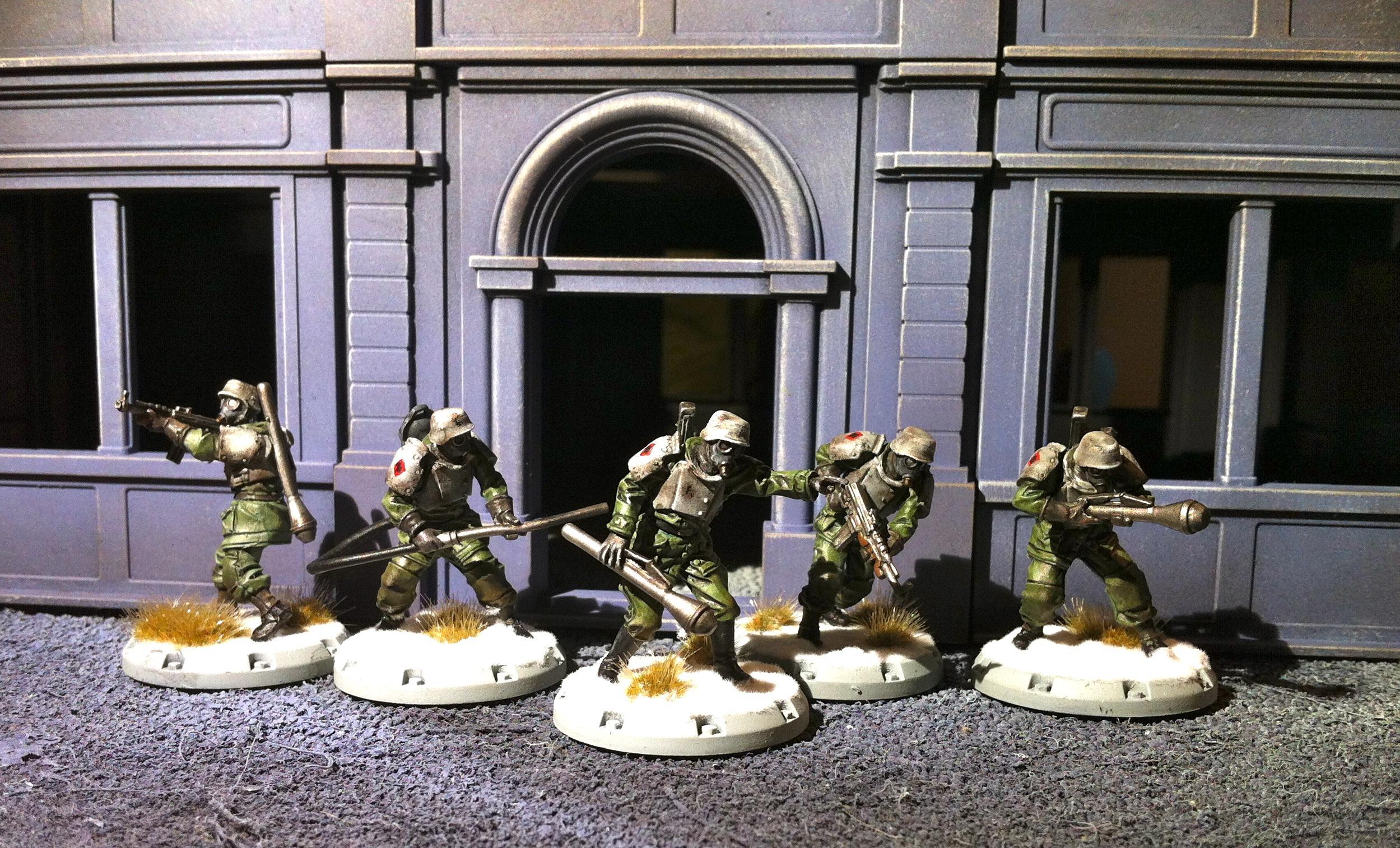 Axis, Dust Tactics, Sturmenpioniere