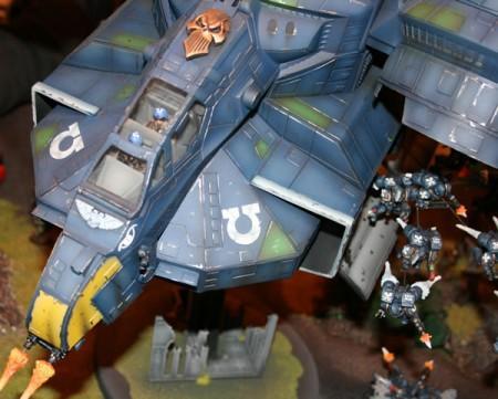 Assault, Diorama, Fast Attack, Stormbird, Ultramarines