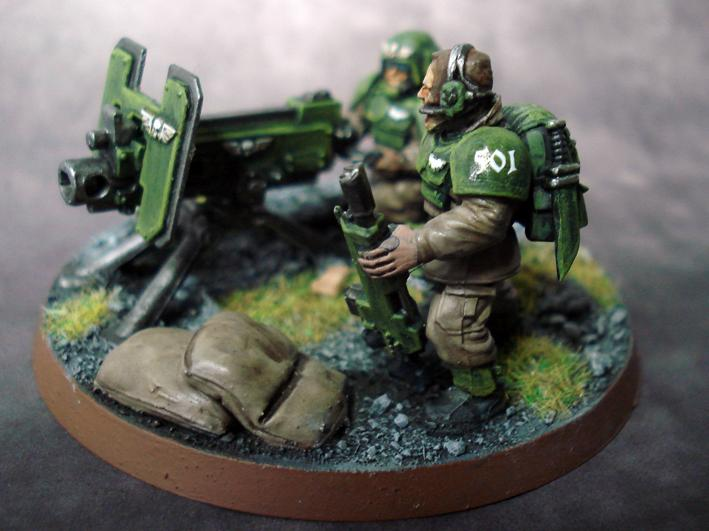 Astra Militarium, Cadians, Guard, Heavy Bolter, Imperial, Warhammer 40,000