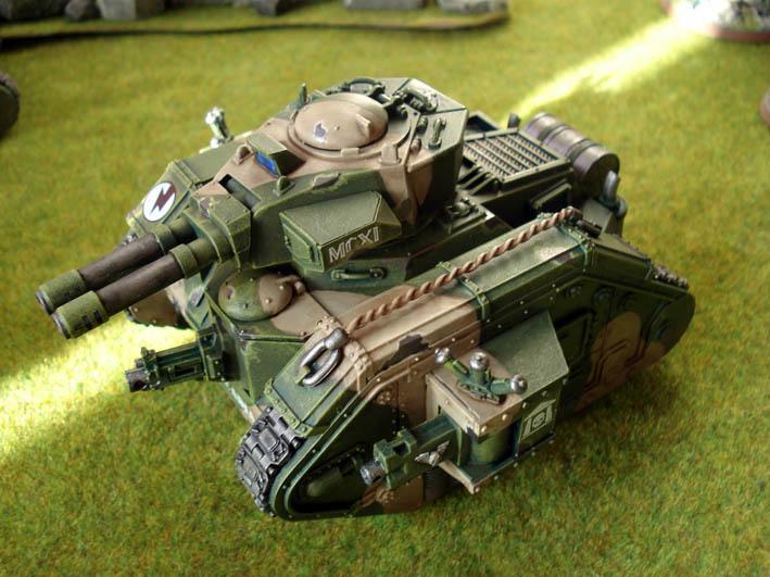 Cadians, Guard, Imperial, Leman Russ, Tank