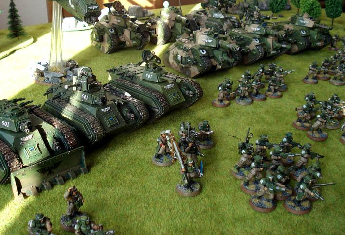 Army, Cadians, Chimera, Guard, Imperial, Imperial Guard, Infantry, Mech, Painted, Warhammer 40,000