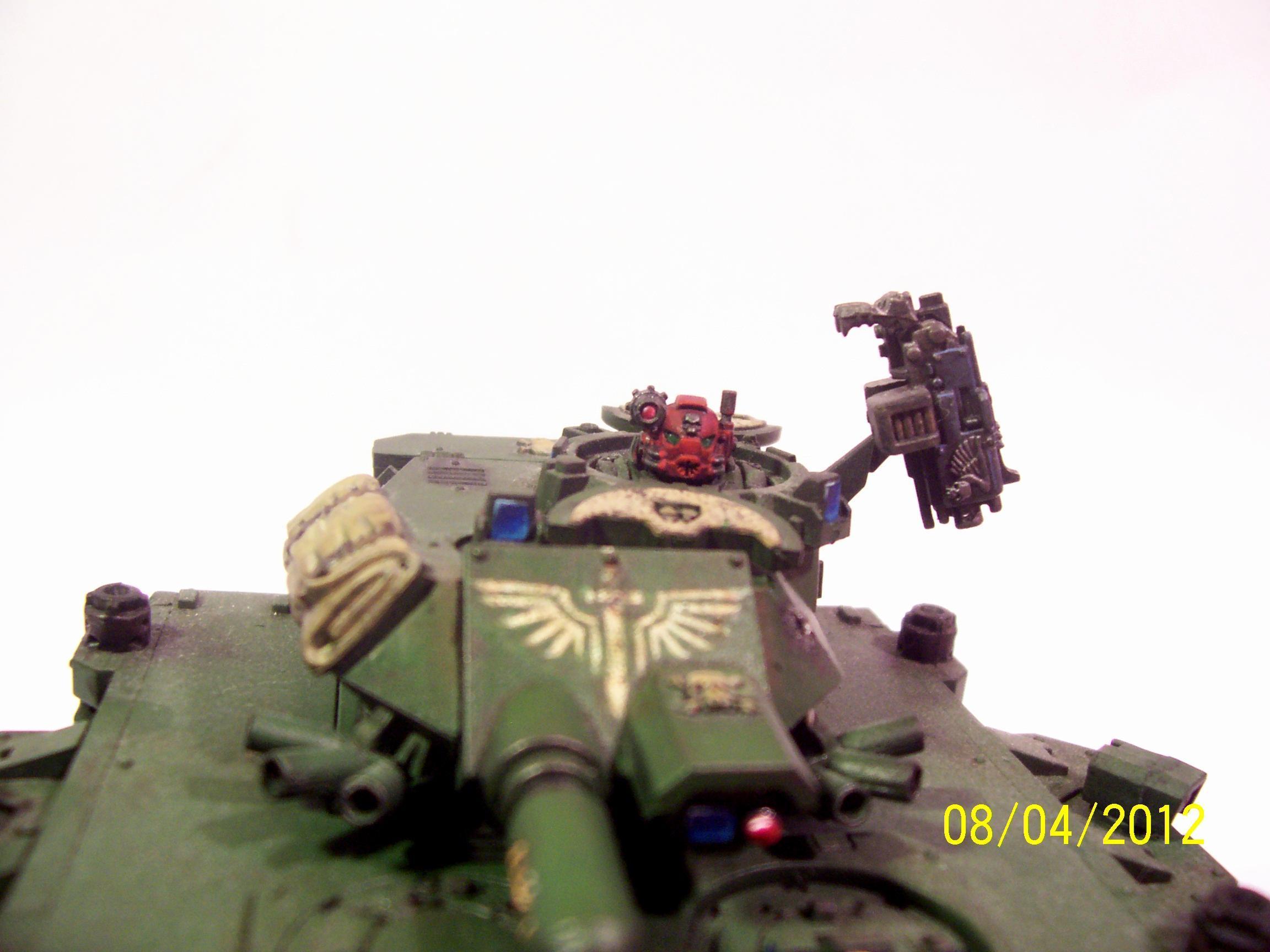 3rd Company, Dark Angels, Destructor, Predator, Tank